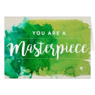 Vous êtes une enveloppe du carte pour notes W. de