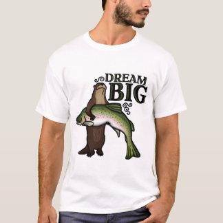 Vous grand rêveur de loutre t-shirt