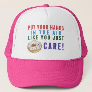 Vous juste casquette de camionneur de beignet (ne