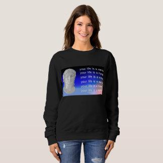 Vous la vie est une chemise de Meme Sweatshirt