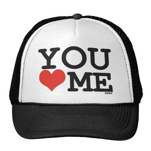 Vous m'aimez casquettes de camionneur