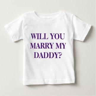 """""""VOUS MARIEREZ le T-shirt de MON enfant de PAPA"""" -"""