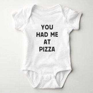 Vous m'avez eu à la pizza t-shirts