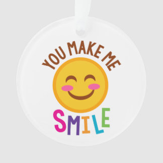 Vous me faites le sourire Emoji