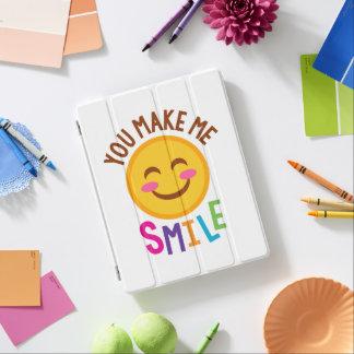 Vous me faites le sourire Emoji Protection iPad