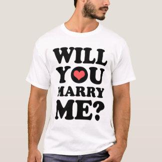 Vous m'épouserez T-shirt léger