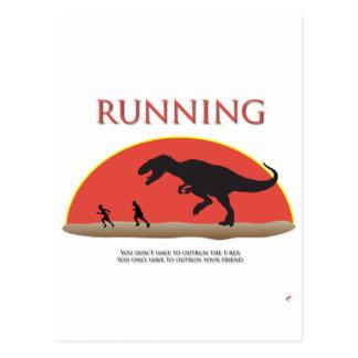 Vous ne devez pas dépasser le T-Rex Carte Postale