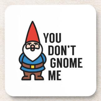 Vous ne faites pas gnome je sous-bocks