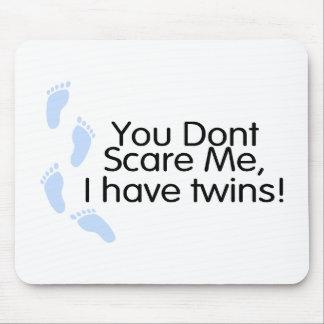 Vous ne m'effrayez pas que j'ai des jumeaux (les g tapis de souris