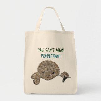 Vous ne pouvez pas précipiter la paresse de bébé d sacs