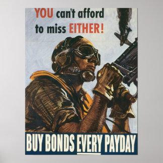 Vous ne pouvez pas vous permettre à la Mlle Posters