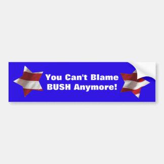 Vous ne pouvez plus blam BUSH ! avec le drapeau de Autocollant De Voiture