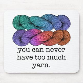 Vous pouvez ne jamais avoir trop de tricot drôle d tapis de souris