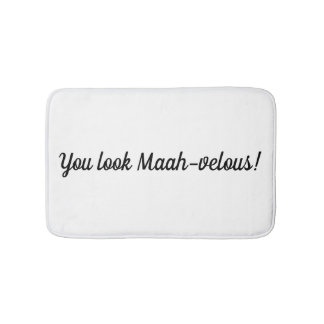 Vous regardez Maah-velous ! - tapis de bain