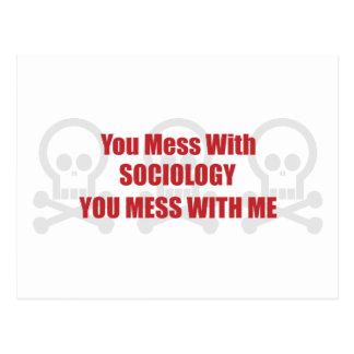 Vous salissez avec la sociologie que vous salissez carte postale