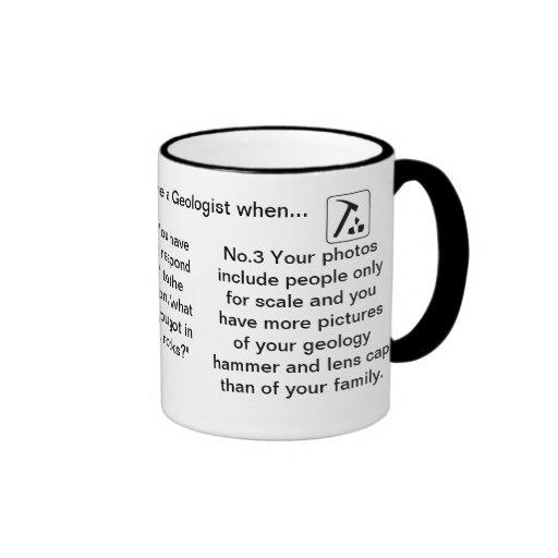 Vous savez que vous êtes un géologue quand… tasses à café
