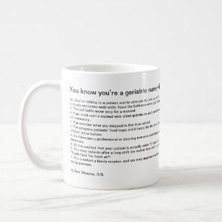 Vous savez que vous êtes une infirmière mug