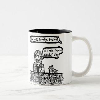 Vous semblez la belle tasse d'aujourd'hui