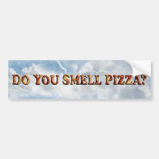 Vous sentez la PIZZA - adhésif pour pare-chocs Autocollant De Voiture
