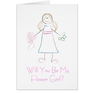 Vous serez ma carte de demoiselle de honneur