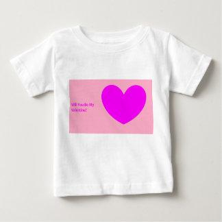 """""""Vous serez mon Valentine ?"""" T-shirt de bébé"""