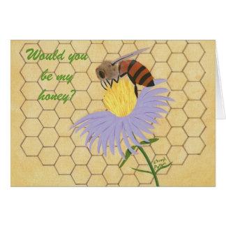 Vous seriez mon miel, carte de proposition de