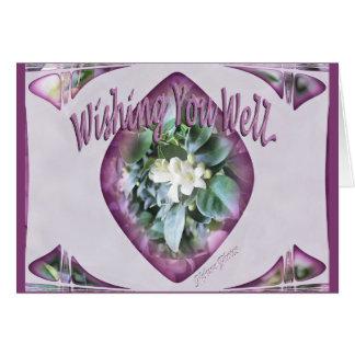 Vous souhaitant bons carte de vœux