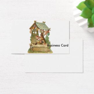 Vous souhaitant de Joyeuses Pâques Cartes De Visite