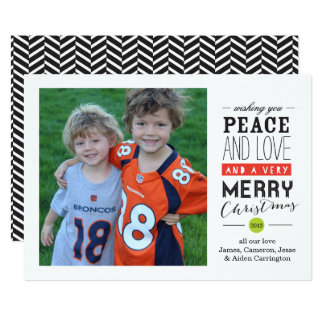 Vous souhaitant le carte photo de vacances carton d'invitation  12,7 cm x 17,78 cm