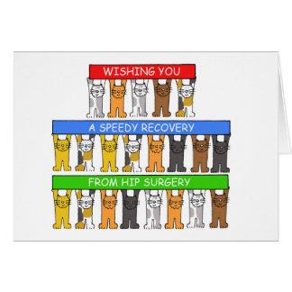 Vous souhaitant un prompt rétablissement de carte de vœux