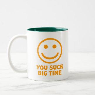 VOUS SUCEZ la tasse de café de DE PREMIER RANG