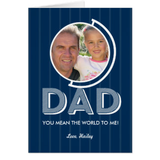 Vous voulez dire le carte photo de fête des pères