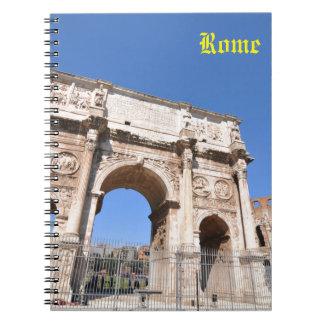 Voûte à Rome, Italie Carnet