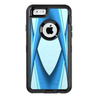 Voûte bleue futuriste coque OtterBox iPhone 6/6s