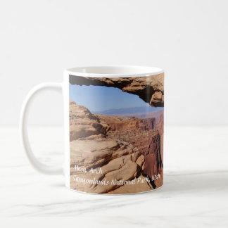 Voûte de MESA à la tasse de café de Canyonlands NP