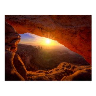 Voûte de MESA, parc national de Canyonlands Carte Postale