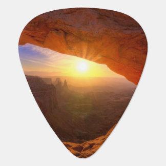 Voûte de MESA, parc national de Canyonlands Onglet De Guitare