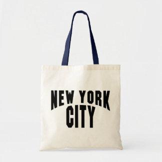 Voûte de New York City Sacs En Toile