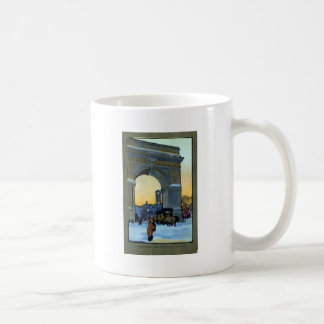 Voûte de Washington au crépuscule d'hiver Mug