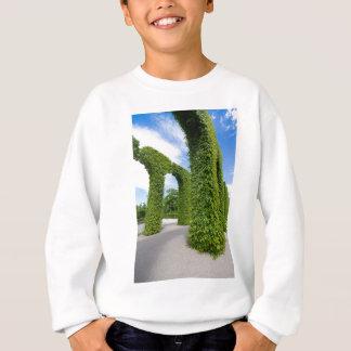 Voûtes vertes de feuille sweatshirt