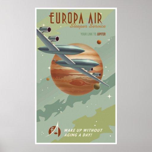 Voyage à Jupiter Posters