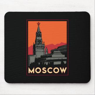 voyage d art déco de Moscou Russie le Kremlin rétr Tapis De Souris