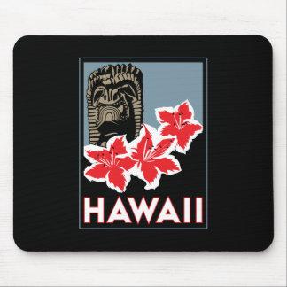 voyage d'art déco d'Hawaï Etats-Unis Etats-Unis ré Tapis De Souris