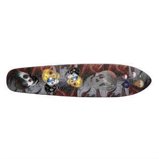 Voyage de crâne skateboard