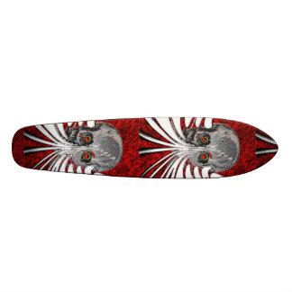 Voyage de crâne skateboard 21,6 cm
