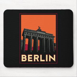 voyage de l art déco oktoberfest de Berlin Allemag Tapis De Souris