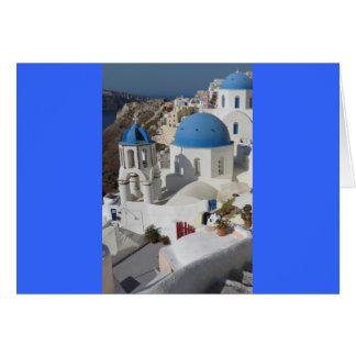 Voyage de Mykonos Grèce Carte De Vœux
