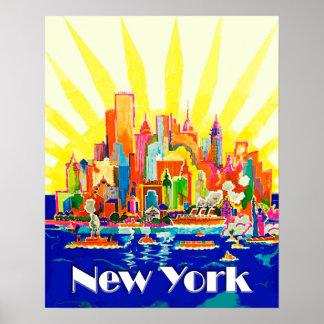 Voyage de New York City Posters