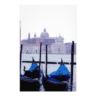 Voyage de Venise Italie Papier À Lettre Customisable