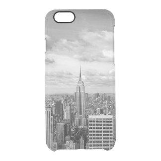 Voyage d'envie de voyager d'horizon de New York Coque iPhone 6/6S